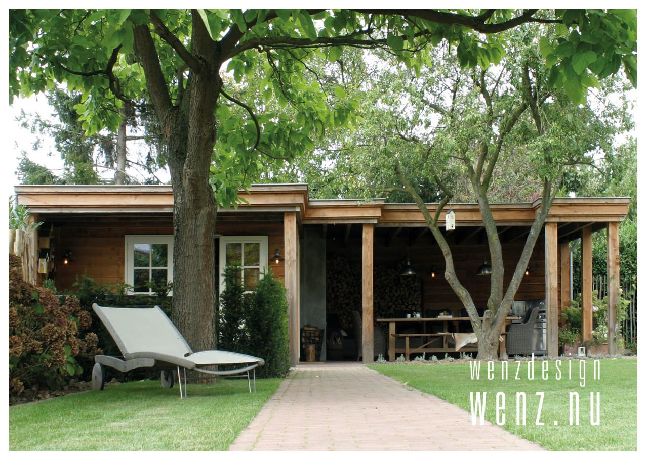 schitterend buitenverblijf met badhuis jacuzzi en veranda wenzdesign exclusief ontwerp en. Black Bedroom Furniture Sets. Home Design Ideas