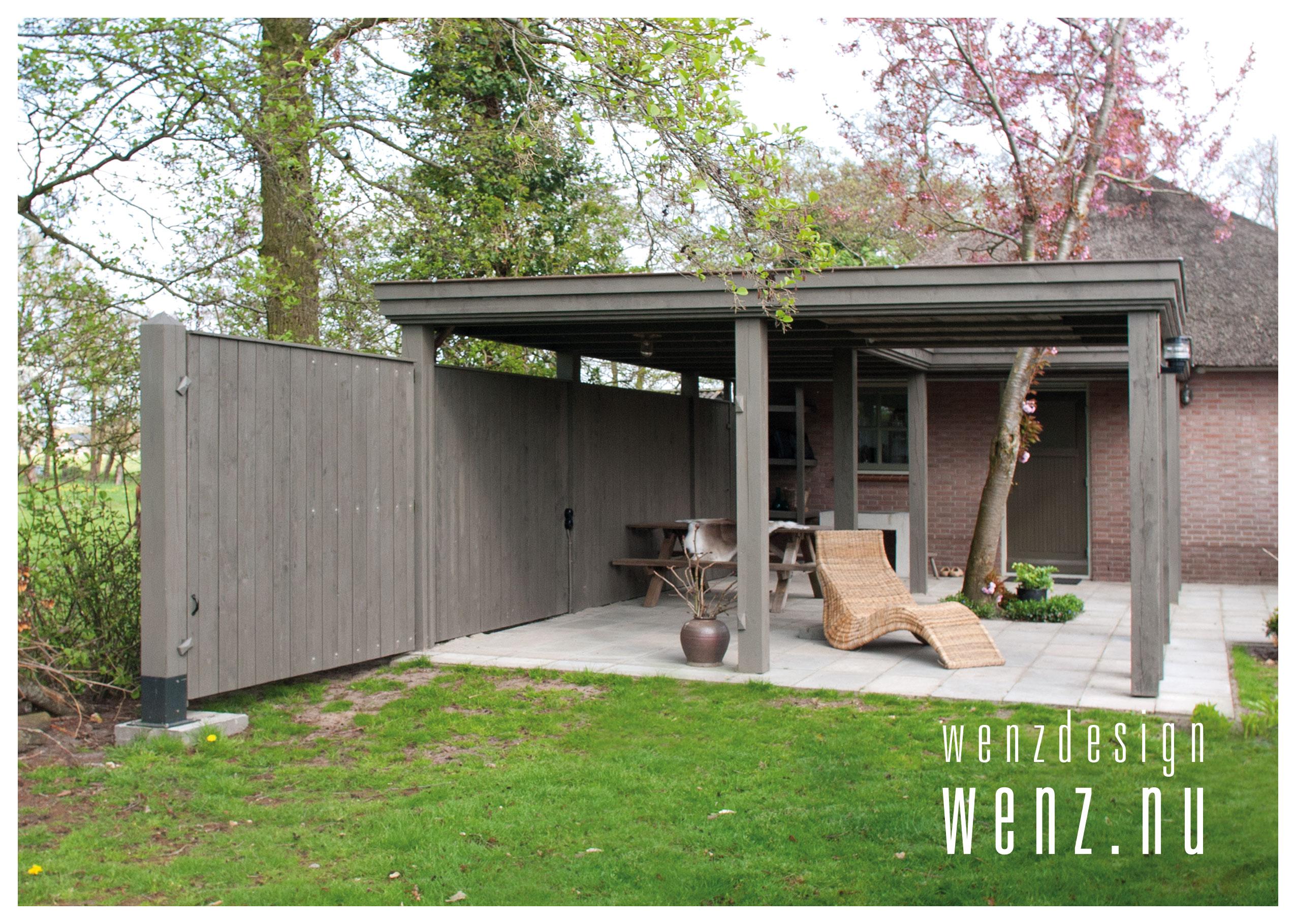 Veranda op maat in uw tuin wenzdesign exclusief for Bouwtekening veranda eigen huis en tuin