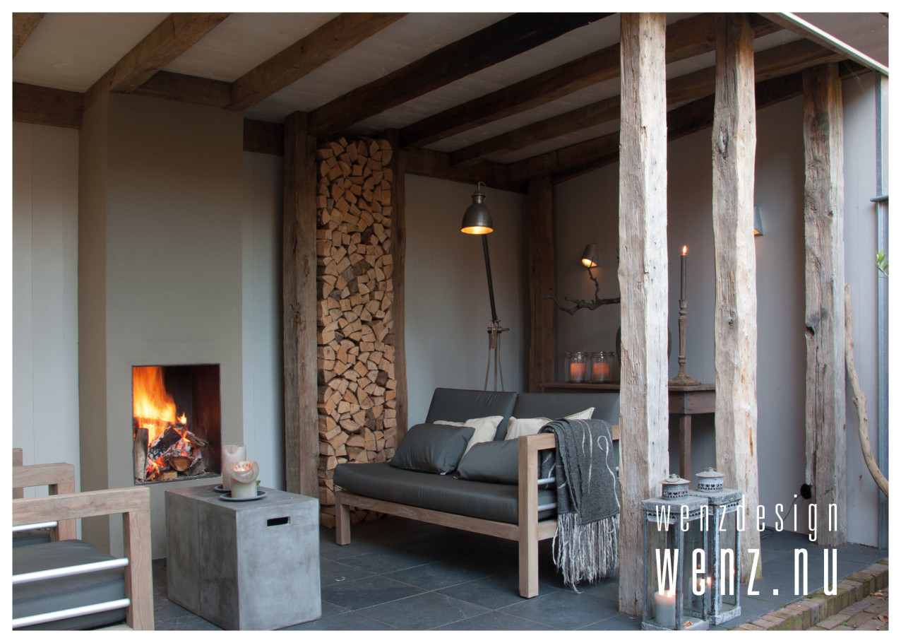 Knusse veranda als loungeplek wenzdesign exclusief for Veranda interieur