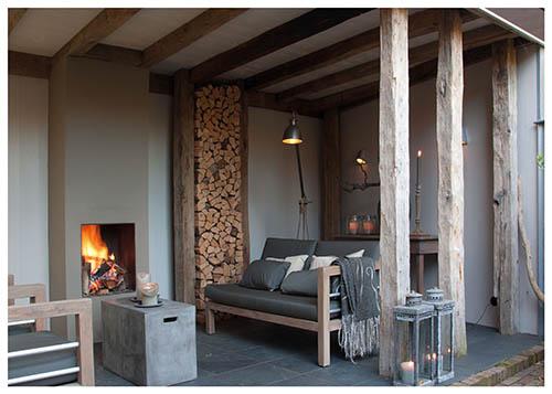 Knusse veranda als loungeplek wenzdesign exclusief for Kosten veranda